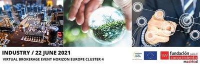 Horizon Europe Cluster | INDUSTRIA