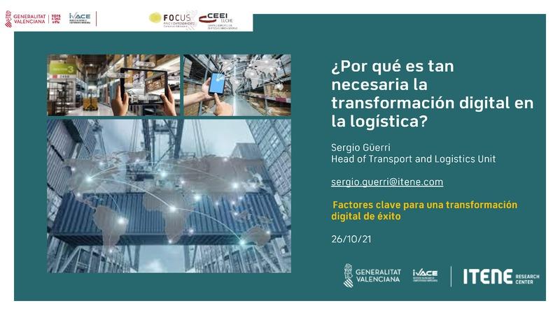 ¿Por qué es tan necesaria la transformación digital en la logística?