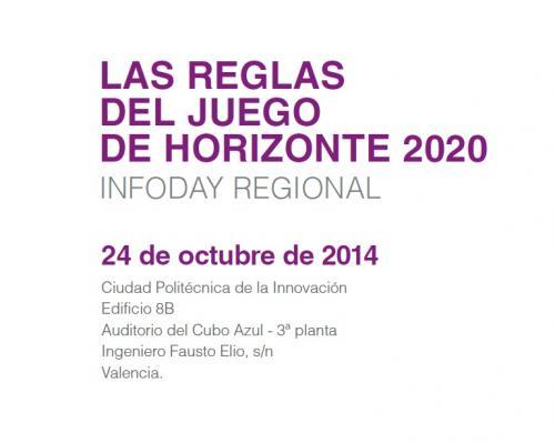 Programa Infoday octubre 2014