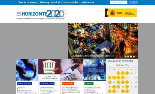 Financiación de la I+D+I en el Programa Horizonte 2020