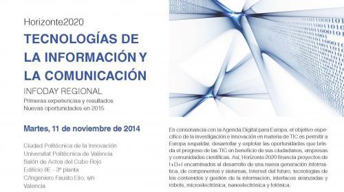 Jornada Horizonte 2020: Infoday ICT Leit