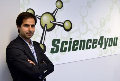 Miguel Pina CEO in Science4you