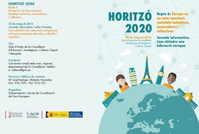 Programa de la Jornada 'Europa en un món canviant: societats inclusives, innovadores
