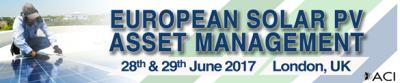European Solar PV Asset Management Forum 2017
