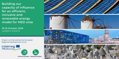 Conferencia Edificios eficientes y energía renovable
