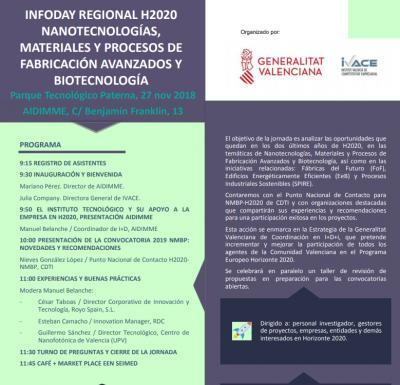Infoday Regional H2020 NMBP 2018