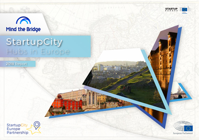 Informe Startupcity hubs in Europa  de Mind The Bridge