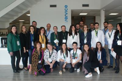 Participantes de la 2ª edición de Operación Consolida en su sesión con Aquaservice