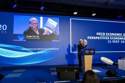 Intervención del secretario General de la OCDE,  Ángel Gurría