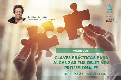 Presentación Webinar Claves prácticas para alcanzar tus objetivos profesionales