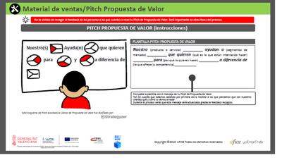 Pitch propuesta de valor