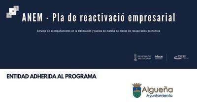 Los ayuntamientos de Hondón de los Frailes y Algueña ya forman parte del programa ANEM