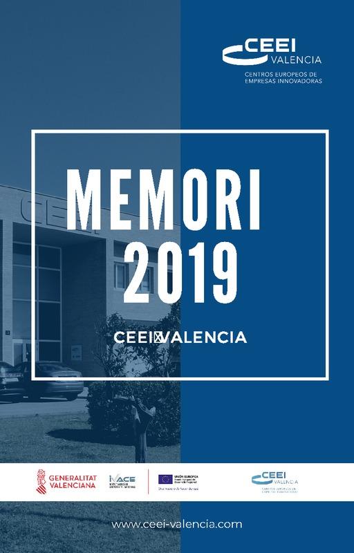 Memoria Anual 2019 CEEI Valencia
