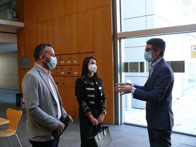 CEEI Castellón y PortCastelló exploran vías de colaboración en innovación