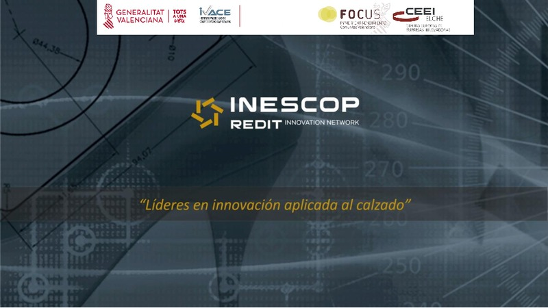 INESCOP - Líderes en innovación aplicada al calzado (Portada)