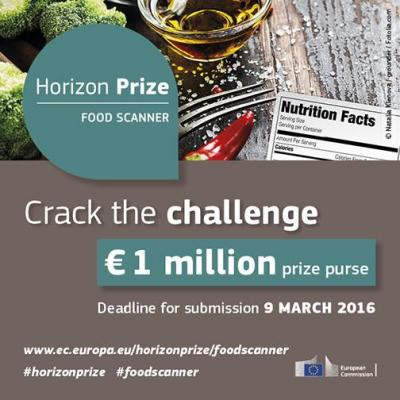 Can you crack the food scanner challenge? European Commission offers € 1 million in prizes