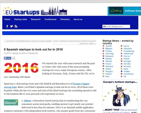 6 Spanish startups to look out for in 2016 | EU-Startups