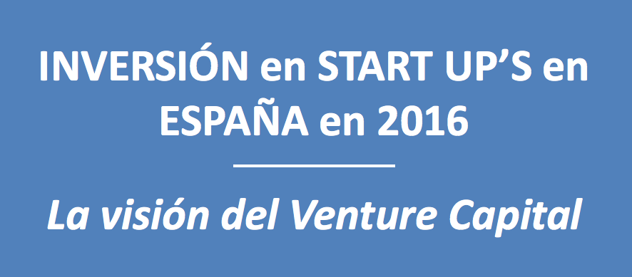 Inversión en Start Up's en 2016